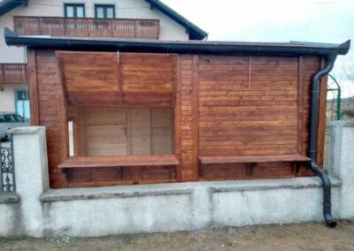 Stambeni kontejneri - kuce od drveta- gazebo letnjikovci - bazeni - bastenske kucice - kiosci, lokali